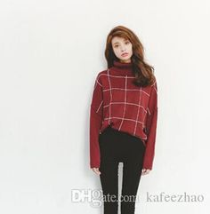 87d181f477 Autumn Winter Popular England Style Sweater Batwing Sleeve Women Turtle  Neck Pullover Retro Ladies Sweaters Warm