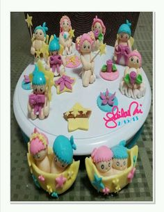Little Twin Star brownie toppers - Sanrio by Sheila Marie Matienzo