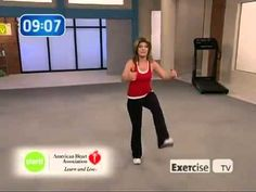 Exercise TV  Start walking at home 1 mile with Leslie Sansone