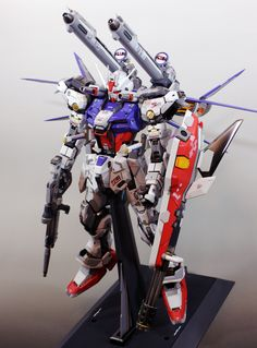 GUNDAM GUY: PG 1/60 Strike Gundam + I.W.S.P. - Custom Build