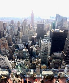 New York Vertical Panorama from the top of the Rock [OC] [2555 x 3098]