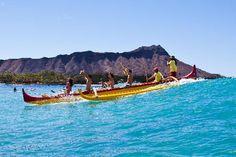 Hawai'i Pacific University - Outrigger Canoe Surfing by Honolulu, Hawai'i, USA Aloha Hawaii, Hawaii Vacation, Hawaii Travel, Vacation Spots, Vacation Ideas, Honolulu Hotels, Waikiki Beach, Honolulu Hawaii, Kauai