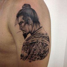 Conheça nossa super seleção com 60 fotos de tatuagens de samurai impressionantes…
