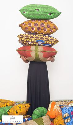 African Prints in Fashion: Eclectic Interior Design by Myriam Maxo