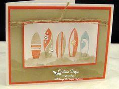 Summer Splash by Cristena - Cards and Paper Crafts at Splitcoaststampers