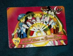 Sailor Moon Trading Card #79 Bandai 1995 Kodansha Toei Naoko Takeuchi