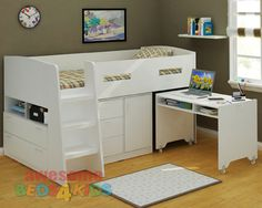 Awesome Beds 4 Kids - Jupiter Midi Sleeper, $999.00 (http://www.beds4kids.com.au/jupiter-midi-sleeper/)