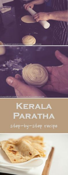 Kerala Paratha is and Indian, flaky, doughy flat bread that is round and soft in texture. Learn how to make it at home from the best in the business.