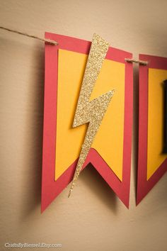 Created with attention to detail and handmade with love, this adorable Harry Potter inspired birthday banner is the perfect touch for your Wizard