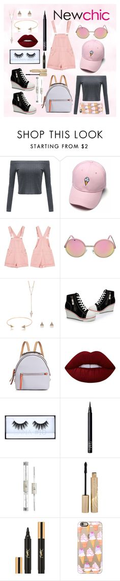 """""""#newchic #"""" by sugarsweetstyle ❤ liked on Polyvore featuring Fendi, Lime Crime, Huda Beauty, NARS Cosmetics, Stila, Yves Saint Laurent, Casetify, chic, New and newchic"""