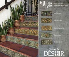 Lavabo esterno decorato con maioliche siciliane ceramica
