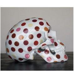 Skull Polka dot by NooN - artandtoys.com