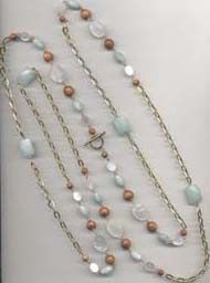 The Beading Gem's Journal: How to Make and Wear a Really Long Necklace