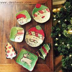 Etta B Pottery Christmas on www.desheas.com!