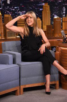 Jennifer Aniston Photos: Jennifer Aniston Visits 'The Tonight Show'