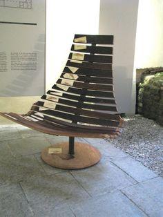 wine barrel chair