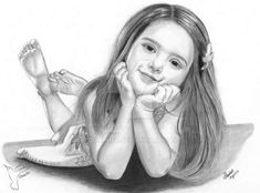 Cute Girl Pencil Drawing By Pencil Drawings Of Girls, Art Drawings, Drawing Art, Home Art, Cute Girls, Deviantart, Portrait, Artist, Awesome Art