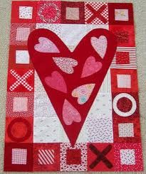 heart quilt pattern - Google Search