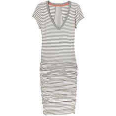 Athleta | Striped Tee Dress