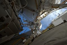 NASA Astronaut Shane Kimbrough on Jan. 13 Spacewalk Expedition 50 Commander Shane Kimbrough of NASA at work outside the International Space Station on Jan. 13 2017 in a photo taken by fellow spacewalker Thomas Pesquet of ESA. The two astronauts successfully installed three new adapter plates and hooked up electrical connections for three of the six new lithium-ion batteries on the station. January 17 2017