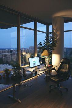 My setup w/ a view