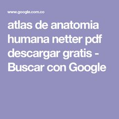 28 best anatomia images on pinterest human anatomy human body and atlas de anatomia humana netter pdf descargar gratis buscar con google fandeluxe Gallery