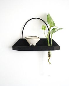 Hängende Regal hängende Vase Vase Regal zurückgefordert