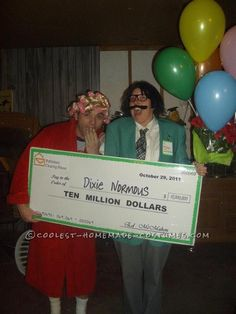 Coolest Homemade Publisher's Clearinghouse Prize Patrol Couple Costume