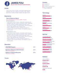 Sample Editable In Eps Infographic Resume Template  Infographic