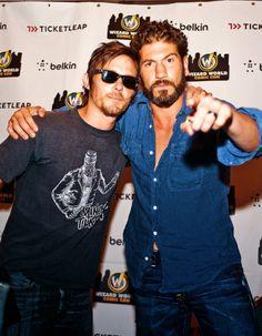 Norman and Jon