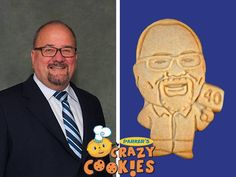 Honor 40 years of service with cookies from Parker's Crazy Cookies...guaranteed to make corporate parties unforgettable!!