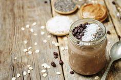 Csokis-mogyoróvajas zabkása