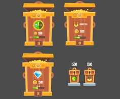King of Thieves pre production graphics on Behance – Make Mobile Applications Game Ui Design, Ux Design, Game Props, Game Interface, Little Games, Pre Production, Game Concept Art, Game Icon, Game Assets