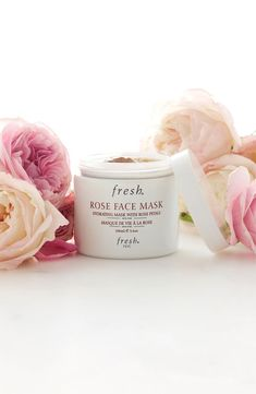 Roses are red, violets are blue, this mask will hydrate and tone your complexion too.