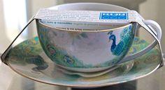 222 Fifth Lakshmi Jumbo 2 7 8 Mug Plate Set New Porcelaine Green Gold | eBay