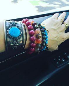My armor #objectswithpurpose #MaeMaejewelry #strength #turquoise #jade #powerful