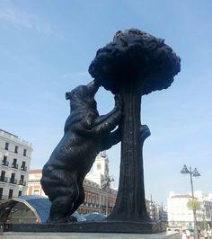 El oso y el madroño. Puerta del Sol. Madrid