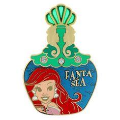 Your WDW Store - Disney Eau De Magique Pin - Perfume Bottle Ariel Little Mermaid