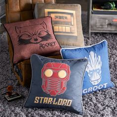 Guardians Of The Galaxy Speaker Pillow #pbteen