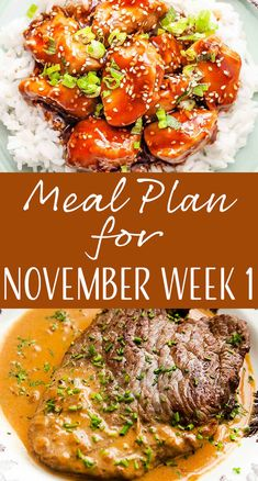 Here's your meal plan for the first week of November! We've got Shrimp Scampi, Mushroom Risotto, Steak Diane, and more! Weekly Dinner Menu, Weekly Menu Planning, Meal Planning, Meal Prep Plans, Mushroom Risotto, Recipe Organization, Simply Recipes, Scampi, Good Healthy Recipes
