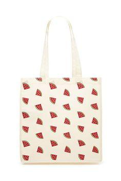 41142e838f3c Robe Coupe Droite en Jean. Watermelon DesignsPrinted Tote BagsBeautiful ...