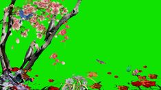 3d, Green, Nature, Flowers, Display, Naturaleza, Nature Illustration, Royal Icing Flowers, Off Grid