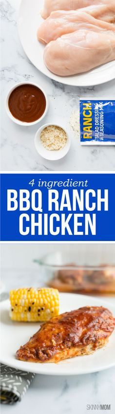 Have BBQ Ranch Chicken without any fuss.