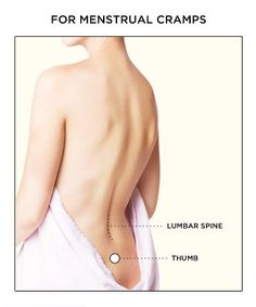Heal a hangover, period cramps or killer headache anywhere, anytime by pressing these pressure points