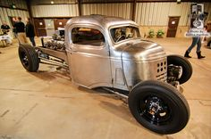 1942 Chevy COE Rat Rod with rear engine 12 cylinder power