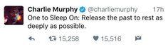 One of Charlie Murphy's last tweets... RIP