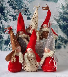 Buy Christmas gnomes on Livemaster online shop