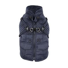 Puppia Wilkes Winter Fleece Vest XLarge Navy *** Visit the image link more details.(This is an Amazon affiliate link and I receive a commission for the sales)