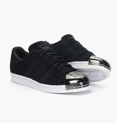Infos     Adidas Originals Wmns Superstar 80s 'Metal Toe'    Color: Core Black,Off White Style code : S75056, S7505