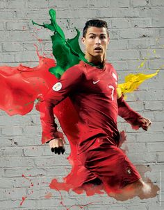 2014 FIFA World Cup Brazil Campaign-Players by Audrey YeeWE: Ronaldo